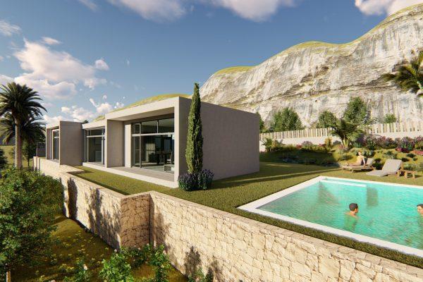 Modern Villa project, new construction in Denia | 150 m²