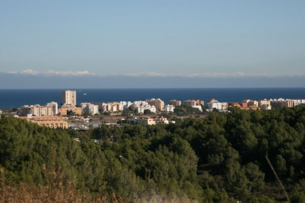 Plot with sea views in Cansalades, Javea | 1000 m²