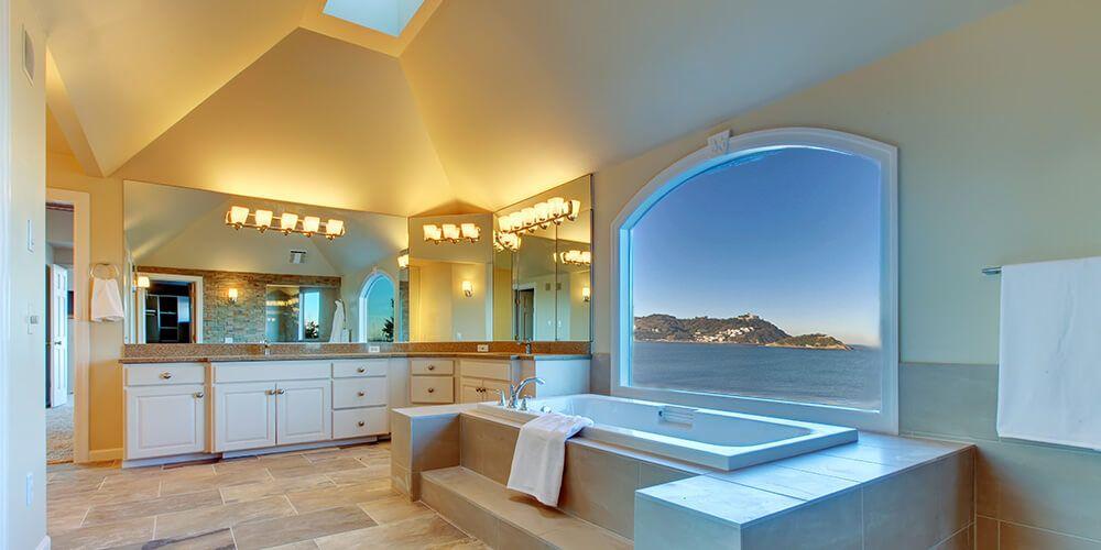 Id es pour concevoir une salle de bain luxueuse immohunter24 - Concevoir une salle de bain ...