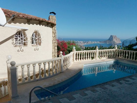 "Property for sale in Calp, ""MaryVilla"" Villa with dreamlike views 