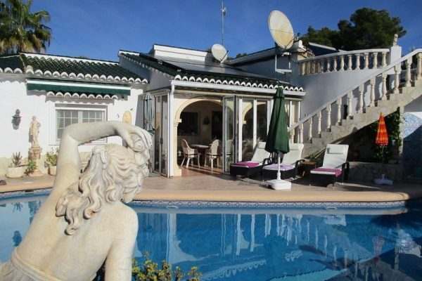 Top gepflegte Villa, 300 m², mit Meerblick | Moraira