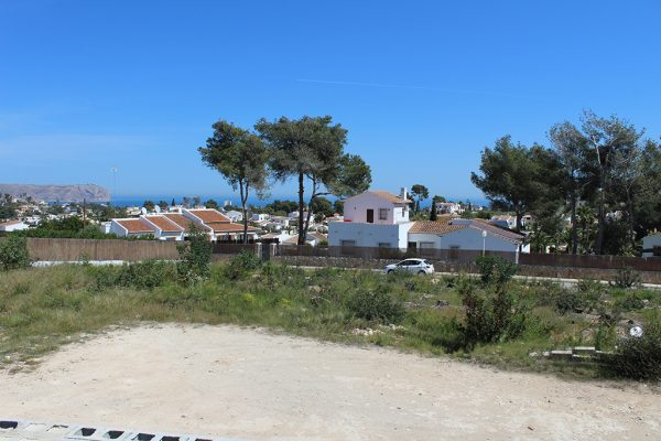 Plot with sea view in Jávea   1006 m²