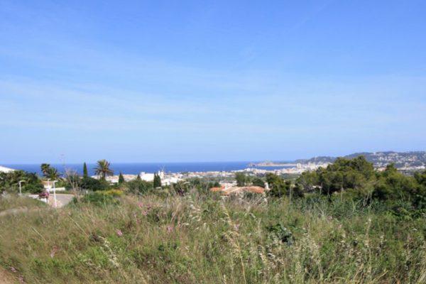9 adjoining plots, 9,000 m² Benimeit area | Moraira